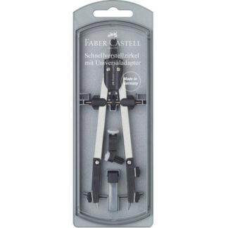 Циркуль металлический 34 см с адаптером Faber-Castell 174035