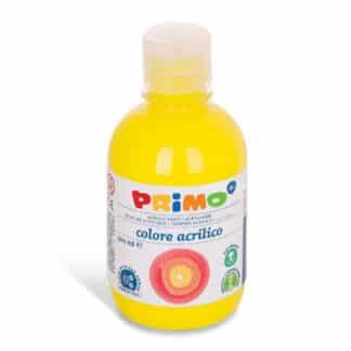 Акриловая краска 300 мл 210 флуоресцентный желтый Primo Италия