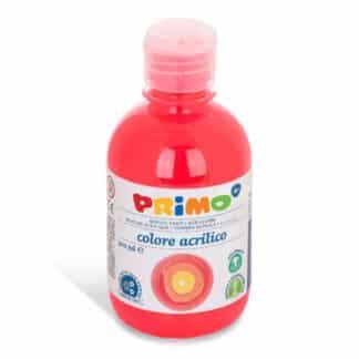 Акриловая краска 300 мл 250 флуоресцентный оранжевый Primo Италия