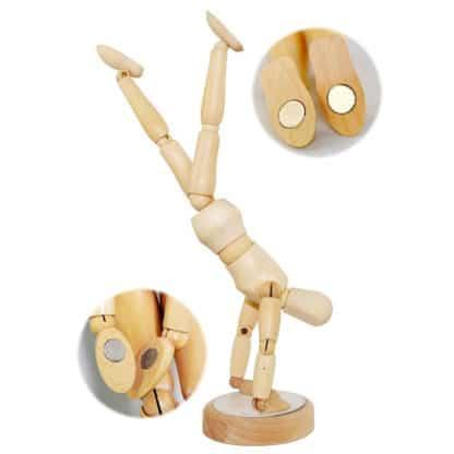 Манекен деревянный с магнитами Человек «Мужчина» высота 20 см D. K. ART & CRAFT