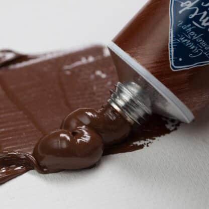 Масляная краска Мастер-класс 46 мл 414 Красно-коричневая Вайк ЗХК «Невская палитра»