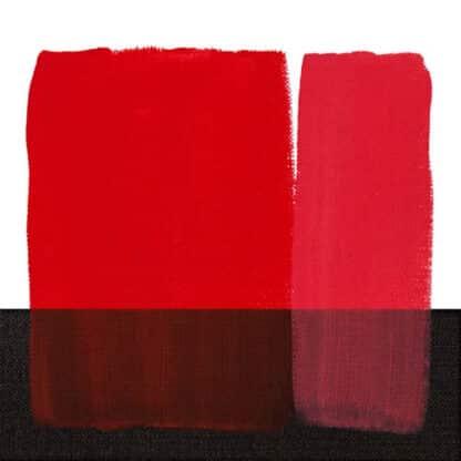 Акриловая краска Acrilico 500 мл 266 красный прозрачный Maimeri Италия
