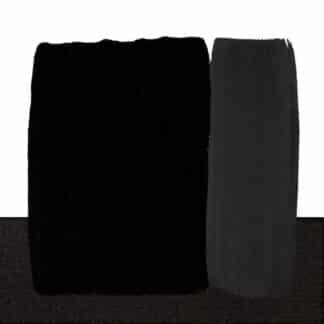 Акриловая краска Acrilico 500 мл 537 угольно черный Maimeri Италия