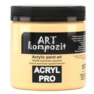 Акриловая краска 107 Неаполитанский желтый 430 мл Kompozit