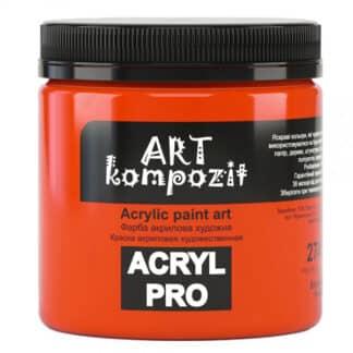 Акриловая краска 274 Багряный 430 мл Kompozit