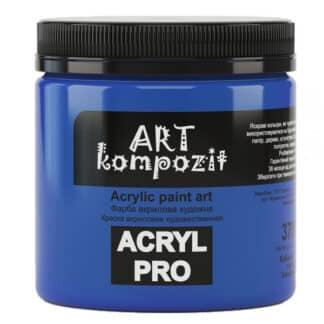 Акриловая краска 370 Кобальт синий светлый 430 мл Kompozit