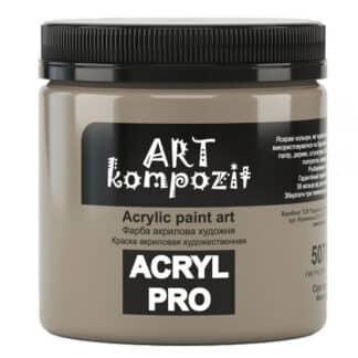 Акриловая краска 507 Серый теплый 430 мл Kompozit