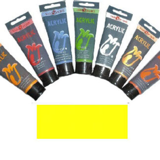 Акриловая краска 75 мл 021 желтая лимонная Van Pure