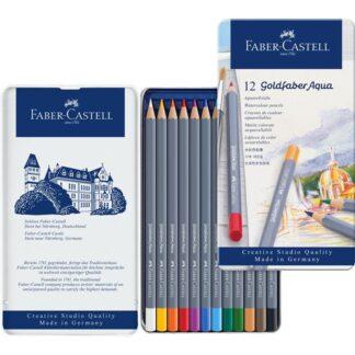 Набор акварельных карандашей Goldfaber 12 штук Faber-Castell