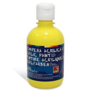 Акриловая краска 300 мл 211 желтый лимонный Primo Италия