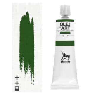 Масляная краска 41 Зеленый Хукера 60 мл Renesans Польша