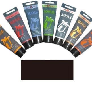 Акриловая краска 75 мл 088 коричневый Вандик Van Pure