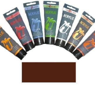 Акриловая краска 75 мл 094 коричневая прозрачная Van Pure