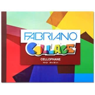 44422002 Альбом для творчества Collage Cellophane 24х32 см 10 листов Fabriano Италия