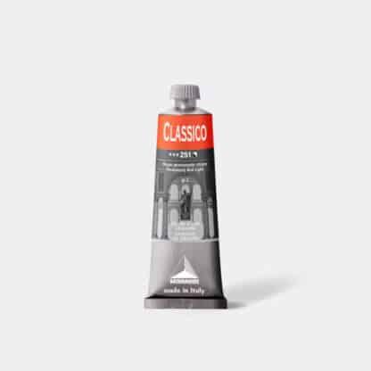 Масляная краска Classico 60 мл 251 красный светлый стойкий Maimeri Италия