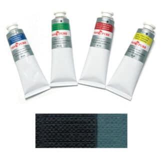 Масляная краска 60 мл 070 зеленая земляная Van Pure