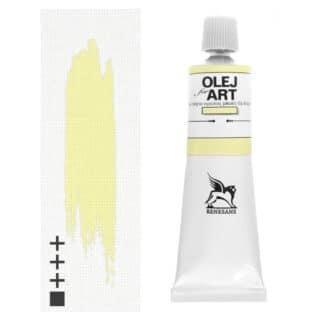 Масляная краска 03 Желтый яркий 60 мл Renesans Польша
