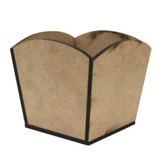 Заготовка деревянная Горшок №01 15х12х14 см МДФ Rosa Talent