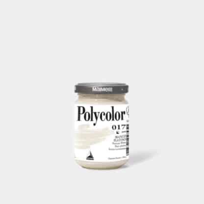 Акриловая краска Polycolor 140 мл 017 белила платиновые Maimeri Италия