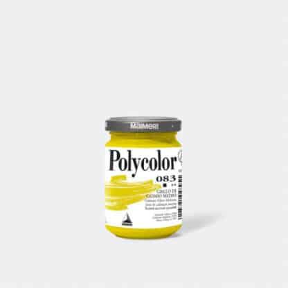 Акриловая краска Polycolor 140 мл 083 кадмий желтый средний Maimeri Италия
