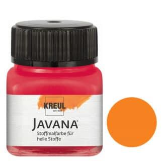 Краска по светлым тканям нерастекающаяся KR-90903 Оранжевый 20 мл Sunny Javana C.KREUL