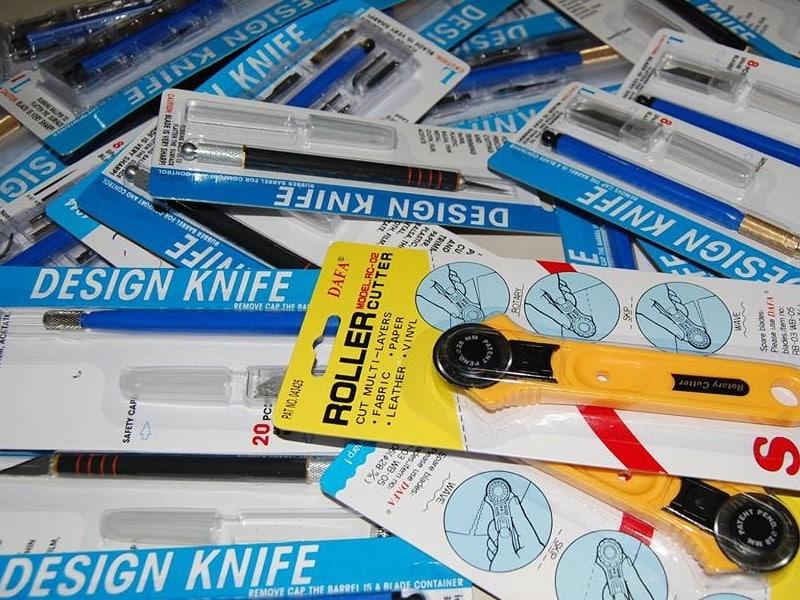 Макетные ножи