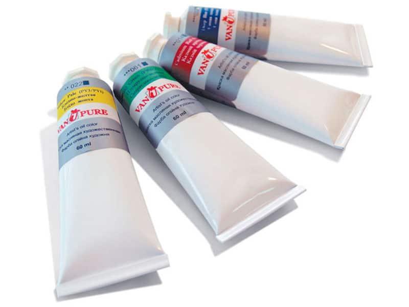 Художественные масляные краски VAN PURE