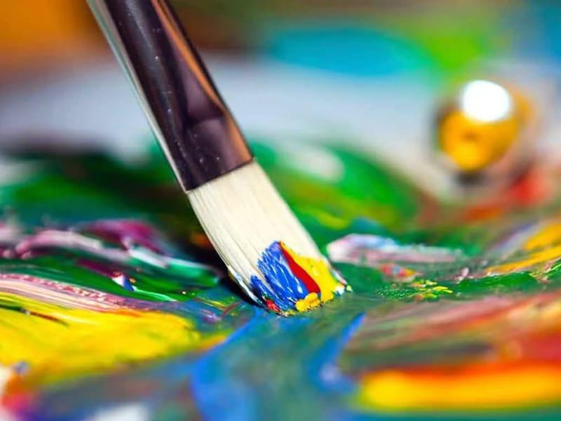 Краски художественные