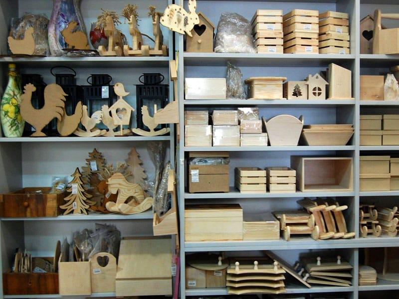 Поступление деревянных заготовок