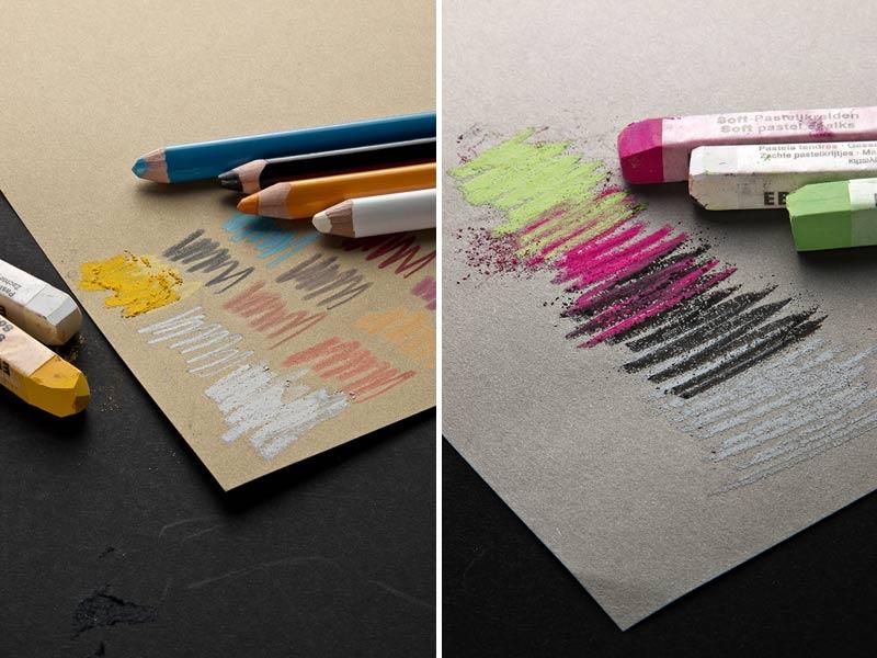 Артбук для эскизов Toned Paper Fabriano