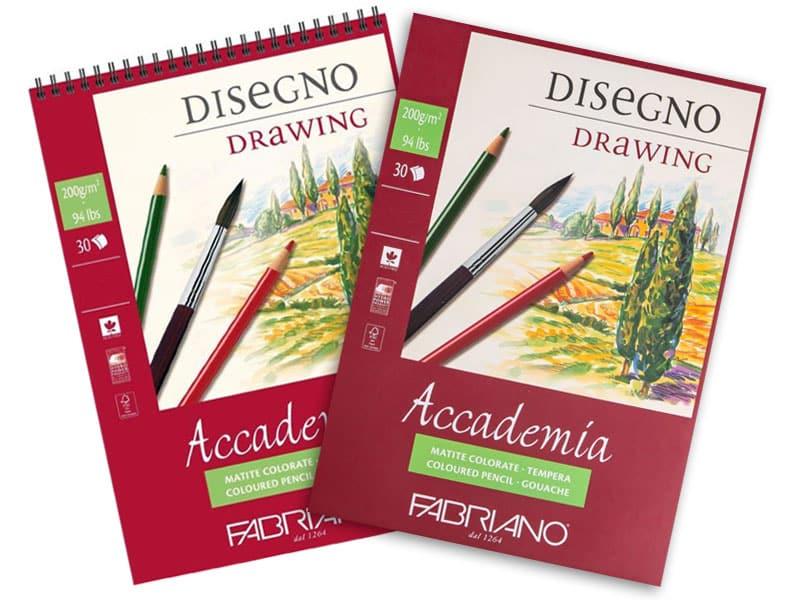 Альбомы для акварельной живописи Acсademia Fabriano