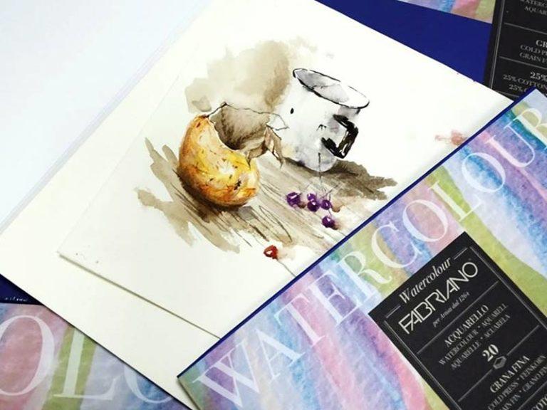 Акварельная бумага Watercolour Fabriano