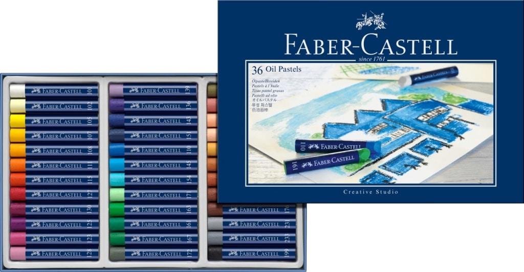 Как выбрать пастель? - Масляная пастель CREATIVE STUDIO Faber Castell