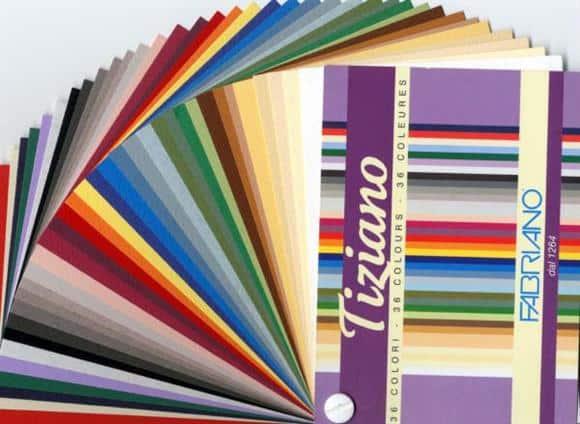 Как выбрать пастель? - Пастельная бумага Tiziano