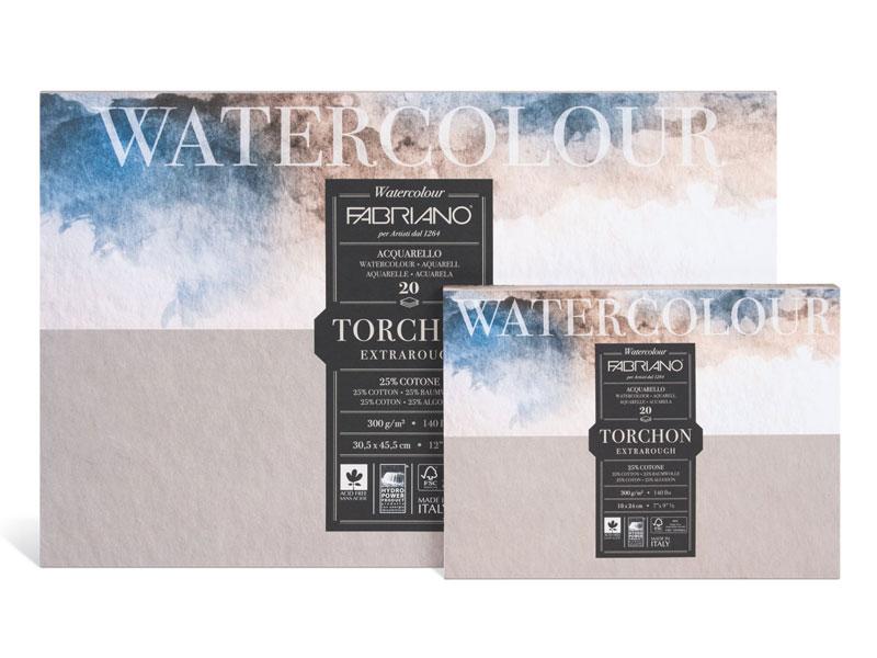 Альбомы для акварели Watercolour Torchon Extra Rough