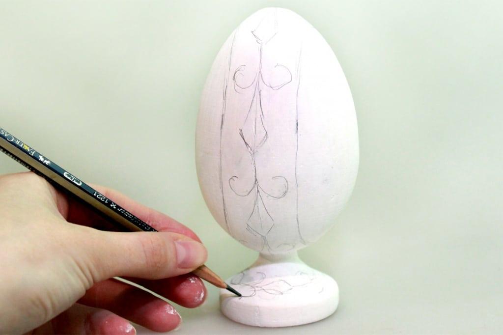 Мастер-класс по декорированию яйца «Фаберже» материалами Primo™ - 03