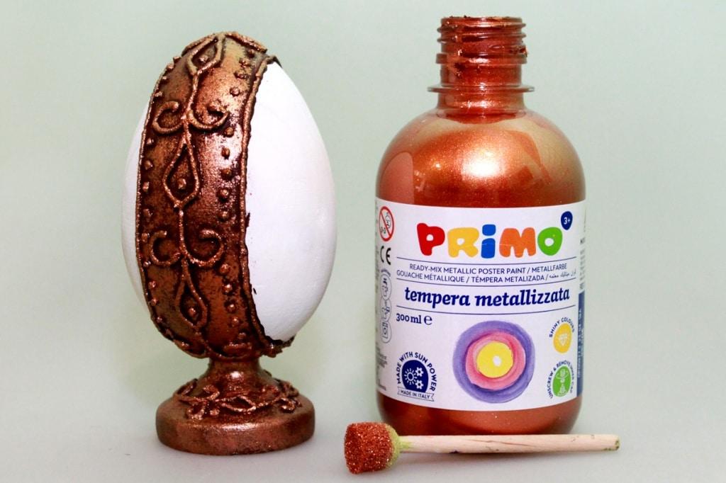 Мастер-класс по декорированию яйца «Фаберже» материалами Primo™ - 07