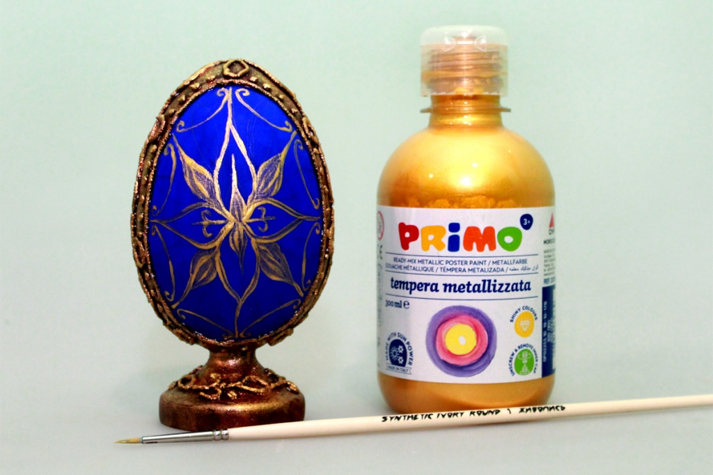 Мастер-класс по декорированию яйца «Фаберже» материалами Primo™ - 10
