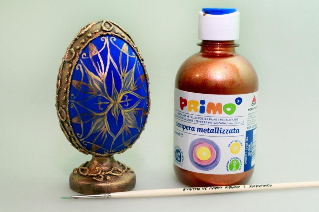 Мастер-класс по декорированию яйца «Фаберже» материалами Primo™ - 11