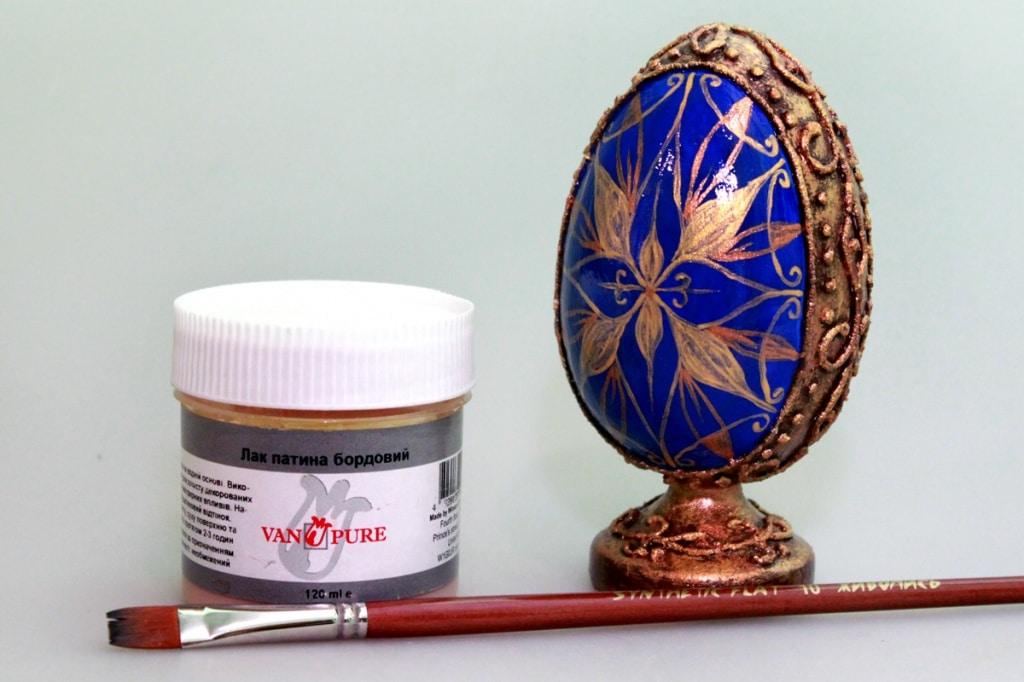 Мастер-класс по декорированию яйца «Фаберже» материалами Primo™ - 12
