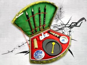 Китайская тушь. Набор для каллиграфии - обложка статьи