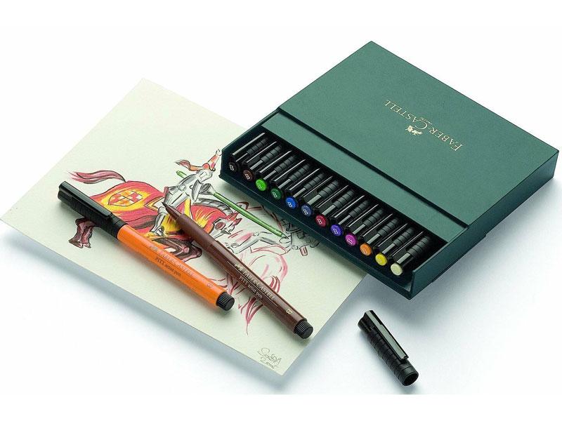 Брашпены Pitt Artist Pen Brush Faber Castell