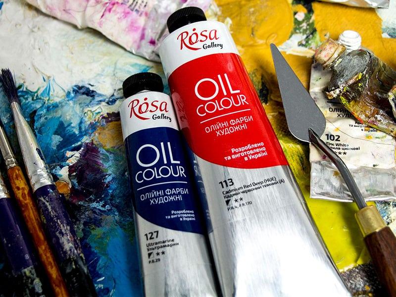 масляные краски Rosa Gallery