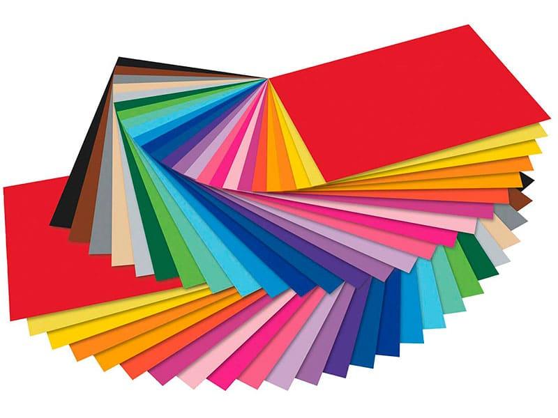 Цветной картон Folia