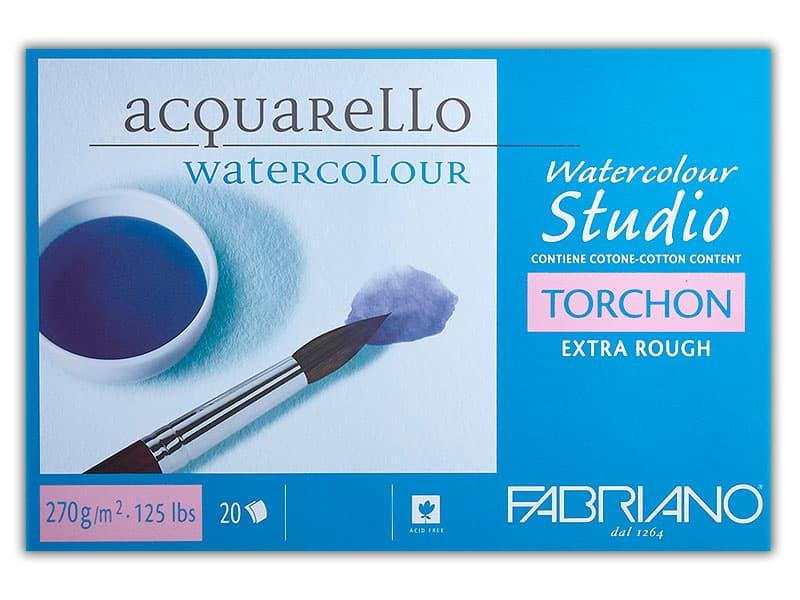 Бумага Watercolour Studio Torchon