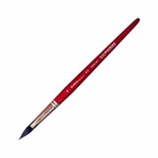 Кисточка «Автор» 5072 Белка имитация круглая №16 короткая ручка красная АртАвангард
