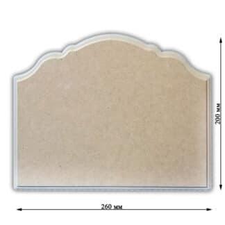 Заготовка деревянная «Панно» 260х200х8 мм МДФ 25.026 Украина