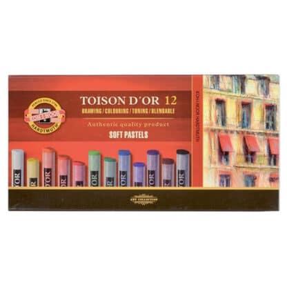 Мел-пастель Toison D`or 12 цветов Koh-i-Noor