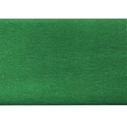 Бумага креповая зеленая 50х200 см 35 г/м.кв. «Трек» Украина