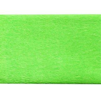 Бумага креповая салатовая 50х200 см 35 г/м.кв. «Трек» Украина